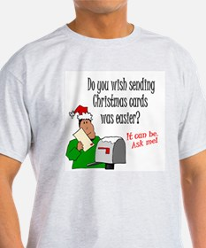 Xmas Cards Easy T-Shirt