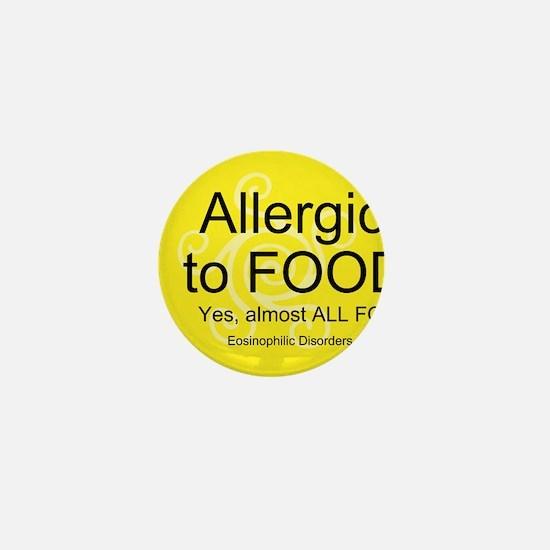 Cute Allergy Mini Button