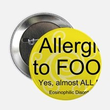 """Funny Allergies 2.25"""" Button (10 pack)"""