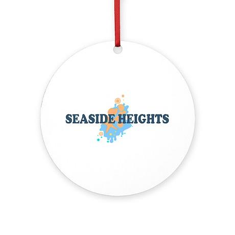 Seaside Heights NJ - Seashells Design. Ornament (R