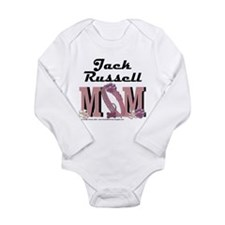 Jack Russell MOM Long Sleeve Infant Bodysuit