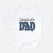 Labradoodle DAD Long Sleeve Infant Bodysuit
