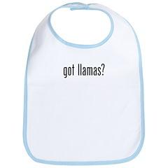 Got Llamas Bib