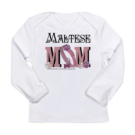 Maltese MOM Long Sleeve Infant T-Shirt