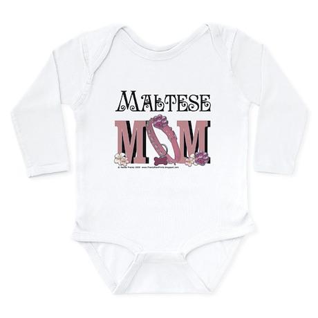 Maltese MOM Long Sleeve Infant Bodysuit