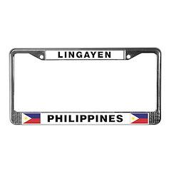 Lingayen Philippines License Plate Frame