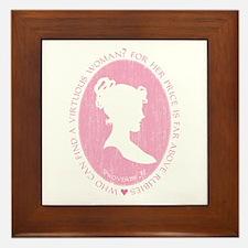 Proverbs 31 Woman Framed Tile