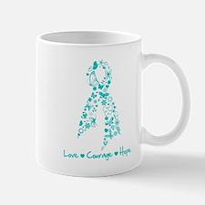 Ovarian Cancer Courage Small Mugs