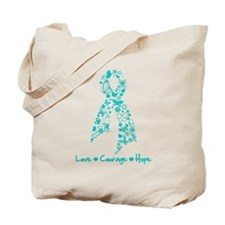 Ovarian Cancer Courage Tote Bag