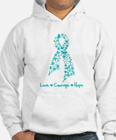Ovarian Cancer Courage Hoodie