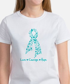 Ovarian Cancer Courage Tee
