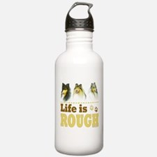 Life is Rough (Collie) Water Bottle
