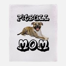 PitBull MOM Throw Blanket