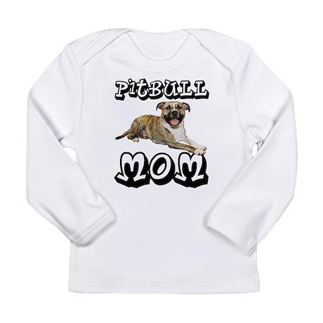 PitBull MOM Long Sleeve Infant T-Shirt