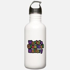 Worlds Greatest Mallory Water Bottle
