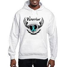 Warrior Ovarian Cancer Hoodie