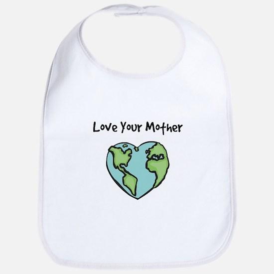 """Love Your Mother"" Bib"