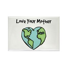 """""""Love Your Mother"""" Rectangle Magnet (100 pack)"""