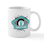 Ovarian Cancer Survivor Mug