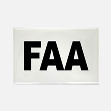 FAA Federal Aviation Administration Rectangle Magn