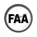 FAA Federal Aviation Administration Wall Clock