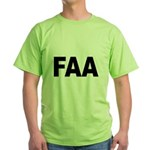 FAA Federal Aviation Administration Green T-Shirt