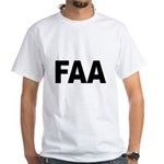 FAA Federal Aviation Administration (Front) White