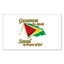 Guyanese by birth Decal