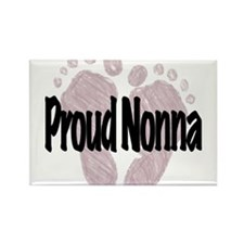 Proud Nonna (Girl) Rectangle Magnet