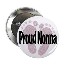 "Proud Nonna (Girl) 2.25"" Button"