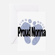 Proud Nonna (Boy) Greeting Cards (Pk of 10)
