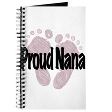 Proud Nana (Girl) Journal