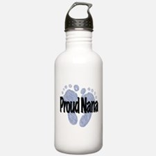Proud Nana (Boy) Water Bottle