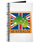 Australia Map and Flag Journal
