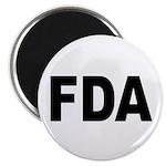 FDA Food and Drug Administration Magnet