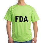 FDA Food and Drug Administration Green T-Shirt