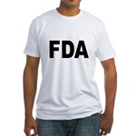 FDA Food and Drug Administration (Front) Fitted T-