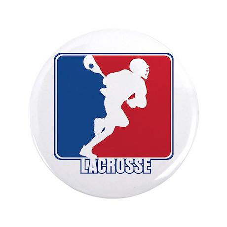Major League Lacrosse Button