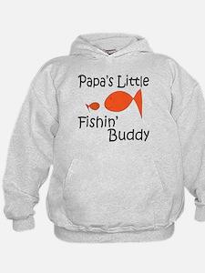 Papa's Little Fishing Buddy Hoodie
