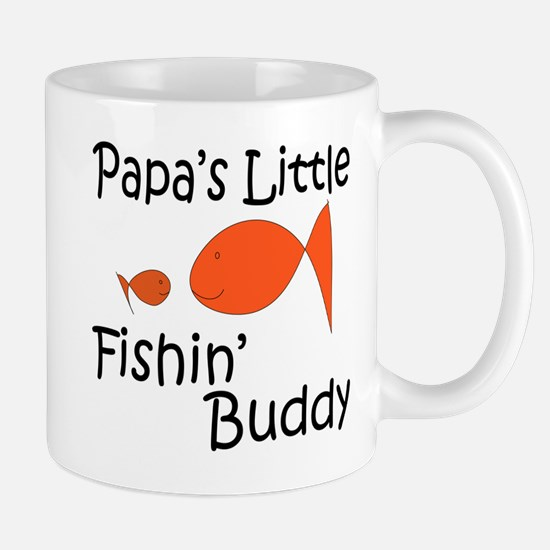 Papa's Little Fishing Buddy Mug