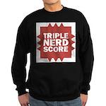 Triple Nerd Score Sweatshirt (dark)