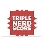 Triple Nerd Score Postcards (Package of 8)