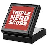 Triple Nerd Score Keepsake Box