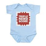 Triple Nerd Score Infant Bodysuit
