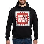Triple Nerd Score Hoodie (dark)