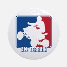 Major League ATV Round Ornament
