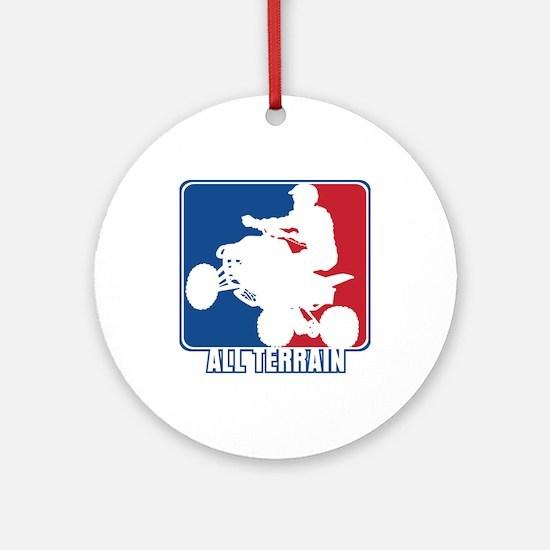 Major League ATV Round Ornament
