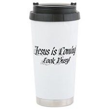 Jesus is Coming! Stainless Steel Travel Mug