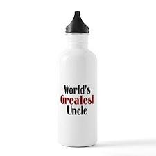 World's Greatest Uncle Water Bottle
