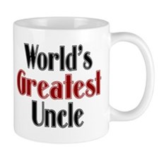 World's Greatest Uncle Small Mug